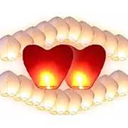 lanterne cinesi per serata romantica con lui