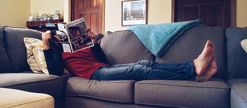 regali da uomo per relax sul divano