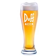 Bicchiere da birra The Simpsons Duff Beer