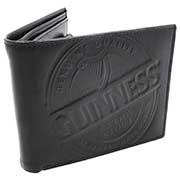 Portafoglio Guinness In Pelle Nera