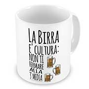Tazza Mug La birra e cultura