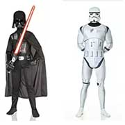 costume di carnevale star wars