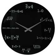 orologio matematico regalo originale per uomo