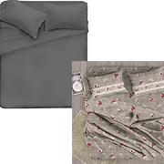 set di lenzuola e federe
