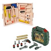 suitcase of children's tools